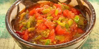 cuisiner poivron salade poivron marocaine facile et pas cher recette sur cuisine