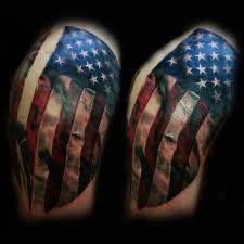 american flag by robert luckey tattoos