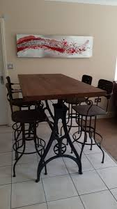 Iron Base Dining Table Industrial Based Dining Tables From Recycled Steel And Iron With