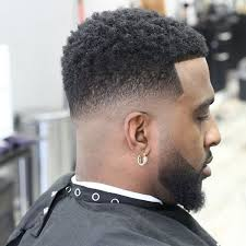afro hairstyles taper fade cool 90 creative taper fade afro haircuts keep it simple men s