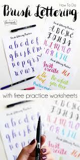 best 25 brush lettering ideas on pinterest calligraphy hand