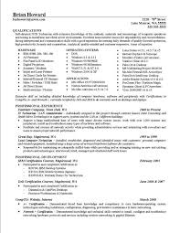 Hardware Skills In Resume Scannable Resume Format Additional Skills To Put On A Resume