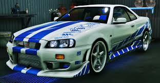 nissan skyline fast and furious 6 2f2f edition nissan skyline gt r34 gta5 mods com