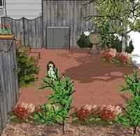 Townhouse Backyard Design Ideas Townhouse Walkway Designs Walkway Ideas On Pinterest Driveway