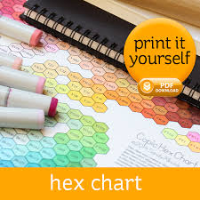 hex chart u2013 sandy allnock
