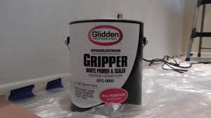 glidden gripper paint primer review youtube