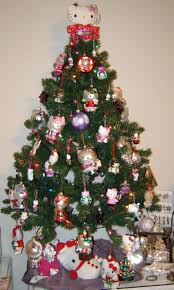 hello kitty christmas trees gadgether
