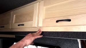 Rv Kitchen Cabinets Get Away Rv Custom Cabinets For Van Conversions Youtube