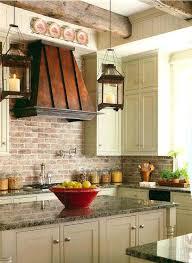 faux brick kitchen backsplash faux brick kitchen backsplash best ideas on exposed beams walls