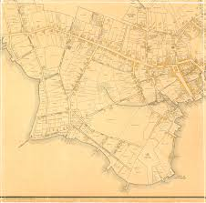 Maps Of Boston by Mhs Collections Online Map Of The Town Of Boston 1676 Drawn By
