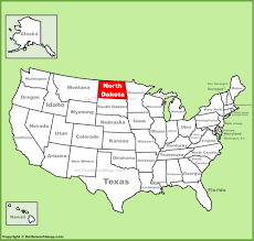 North Florida Map by North Dakota Location On The U S Map