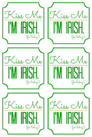 st patricks day gift idea kiss me i u0027m irish
