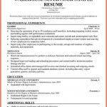 Sample Resume Warehouse Supervisor by Warehouse Supervisor Resume Resume Bio Example