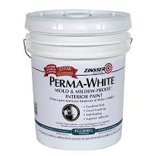 shop zinsser white eggshell acrylic interior paint and primer in