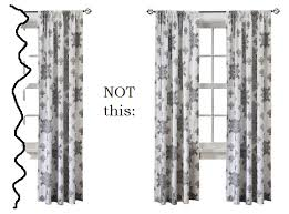 the search for affordable curtains townhouseconfidential
