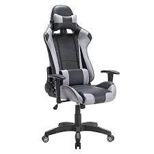 fauteuil pour bureau iwmh racing chaise de bureau siège gaming de luxe fauteuil gamer