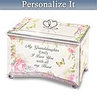 personalized granddaughter gifts 30 s day gifts for granddaughter bradford exchange