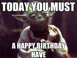 Wars Happy Birthday Quotes 81 Best Birthday Memes Images On Pinterest Book Jacket Books