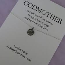 godmother necklace godmother necklace godmother jewelry from azaleaplum on etsy