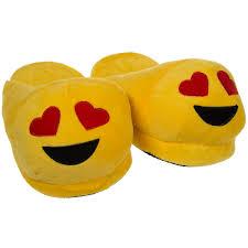emoji house slippers funny soft plush for adults kids teens emoji house slippers funny soft plush for adults kids teens bedroom smiley poop comfy socks womens girls walmart com