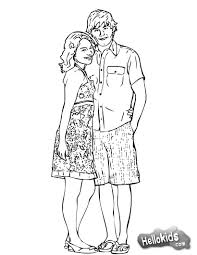 high musical coloring pages eson me