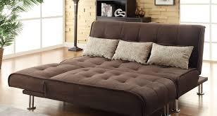 Click Clack Bed Settee Futon White Click Clack Faux Leather Futon Sofa Bed All Over