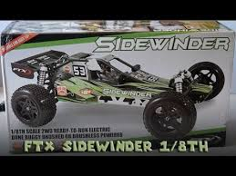 ftx sidewinder 1 8 brushed rtr unboxing u0026 1st run uk