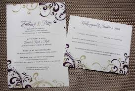 purple and gold wedding invitations purple gold swirls rock n roll themed wedding