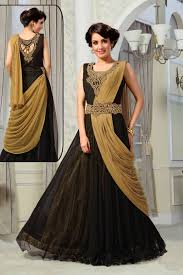 party wear dress black gown online shopping canada black beige evening gown