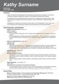 Marketing Resumes Sample by Awesome Design Ideas Effective Resumes 8 Create My Resume