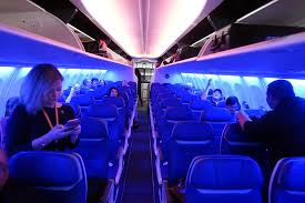 Southwest Airlines Interior A First Look Inside Southwest U0027s Boeing 737 Max 8