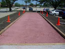 patio u0026 outdoor bocce ball court clay for awesome backyard decor