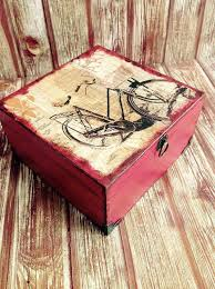themed jewelry box keepsake memorial storage jewelry trinket box bicycle