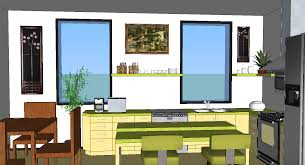sketchup kitchen design home planning ideas 2017
