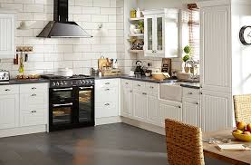 Kitchen Design B Q It Chilton White Country Style Diy At B Q