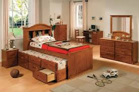Twin Bed With Pull Out Bed Trundle Beds With Storage Designs Homesfeed