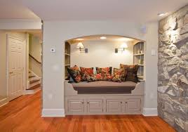 home design vn home design ideas home decor diy furniture the rustic stone walls in this beautifully renovated basement of a private home provide the space with an intimate feel a sleeping alcove was created to