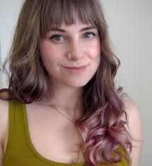 does hair burst work i gave myself subtle purple ombré hair because i m a grown woman