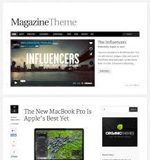 magazine theme beautiful responsive wordpress themes organic