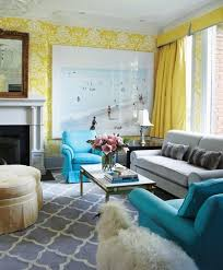 interior livingroom 20 charming blue and yellow living room design ideas rilane