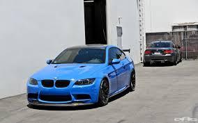 Bmw M3 Blue - santorini blue bmw e92 m3 gets serious at eas autoevolution