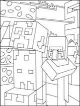 minecraft zombie coloring pages krea