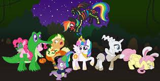 deviantart halloween wallpaper halloween in equestria by atlur on deviantart