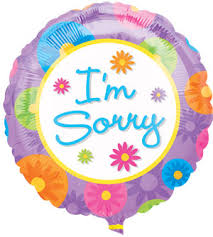 i m sorry balloons for delivery i m sorry balloon sherwood florist florist havant flowers