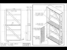 Free Shelf Woodworking Plans by Use This Free Wine Rack Plan To Build A Stylish Shelf That Holds