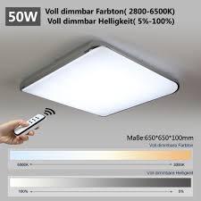 Wohnzimmer Lampe Led Natsen Moderne Led Deckenlampe Wohnzimmer Lampe I505y 50w Voll