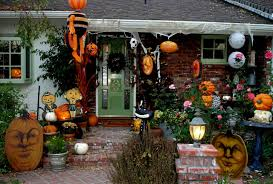 outstanding halloween outdoor decor shows incredible porch scary