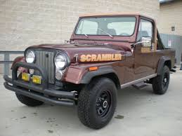 jeep scrambler for sale 1984 amc jeep scrambler laredo low miles just out of a private