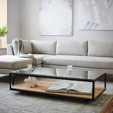Wood Glass Coffee Table 29 Chic Glass Coffee Tables That Catch An Eye Digsdigs