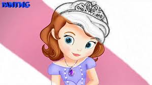 princess sofia coloring book kids